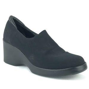 Donald J Pliner Black Wedge Shoes Career Fashion 9
